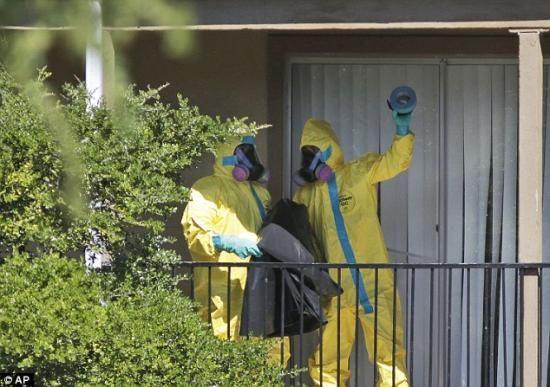 美国一航班上现疑似埃博拉患者被紧急隔离