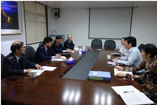 王海民纪检组长检查指导保健中心党的群众路线教育实践活动