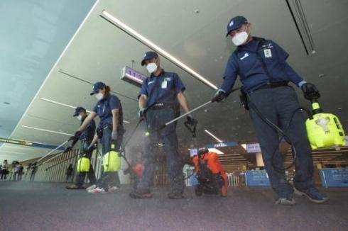 时隔3年韩国重现MERS疫情仁川机场加强消毒防疫