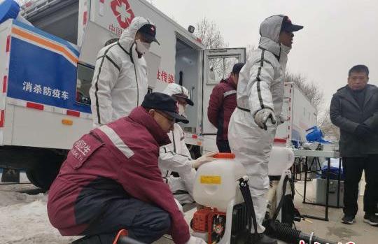 国家突发急性传染病防控(青海)队开展实战拉动演练