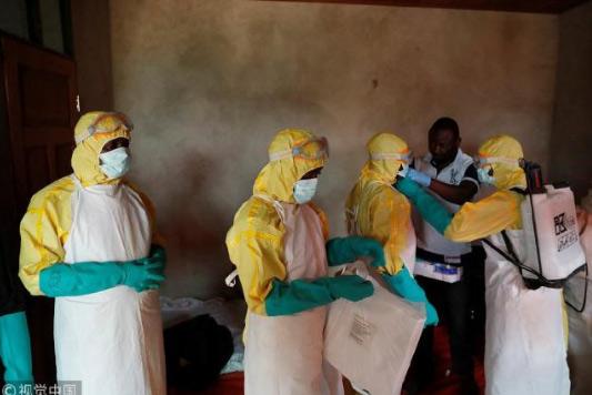 刚果(金)埃博拉疫情已致690死包括28名医务人员