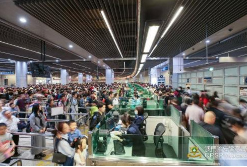 清明假期超150万人次出入澳门单日出入境人次创新高