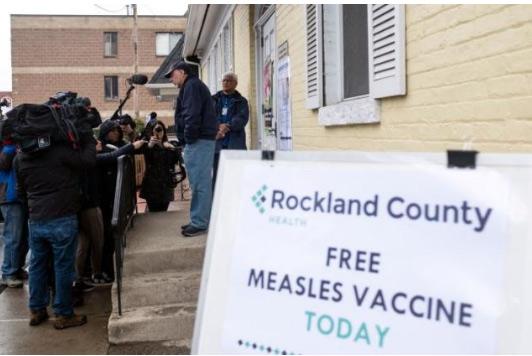 美国麻疹病例激增纽约市疫情加剧